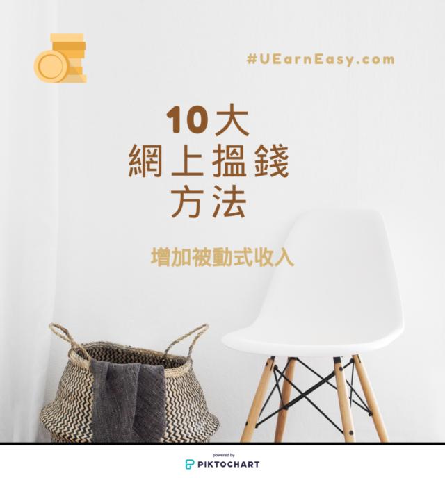 十大網上賺錢方法香港